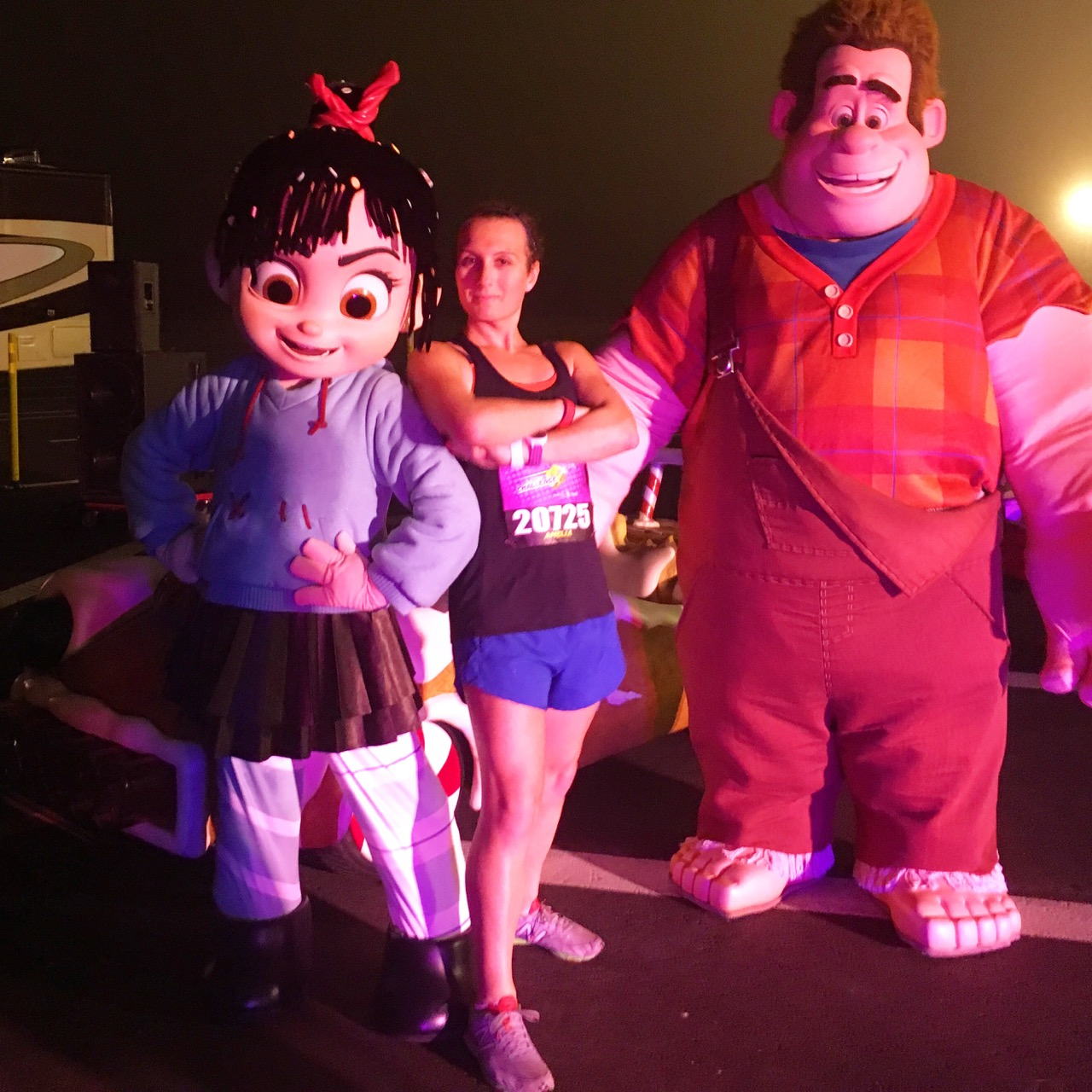 Vanellope and Wreck-It Ralph!