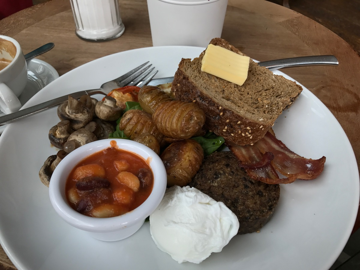 My breakfast at Hemma.