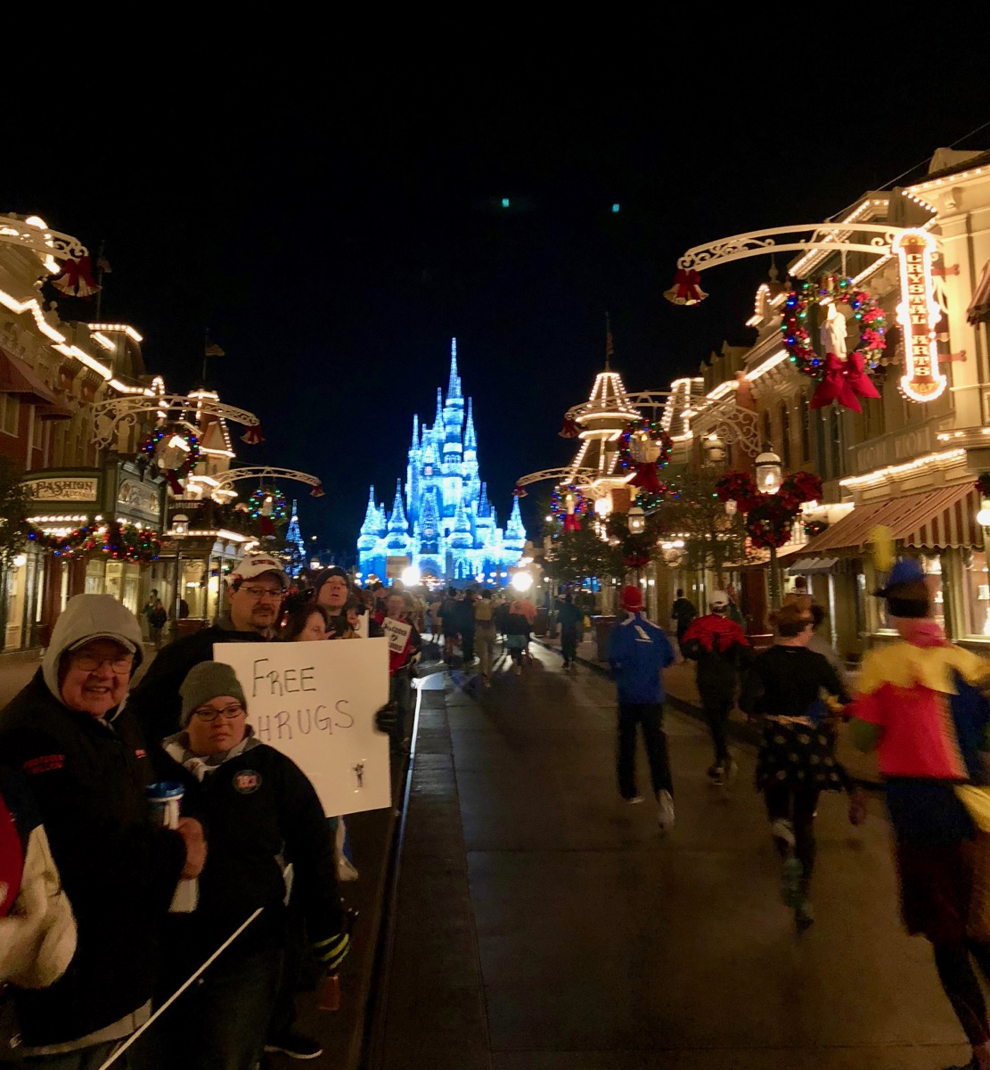 Cinderella's Castle and Main Street USA