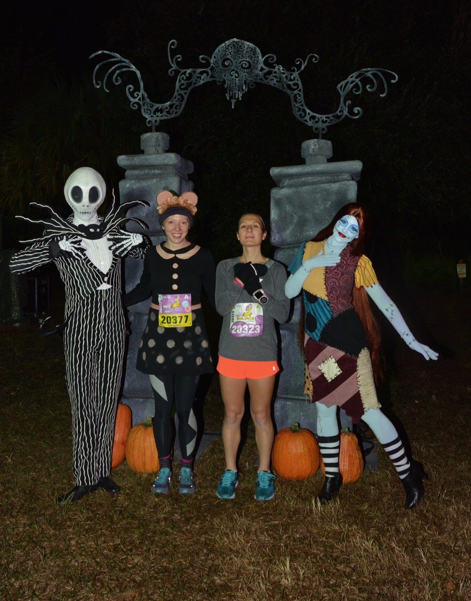 Amelia and Katherine with Jack and Sally